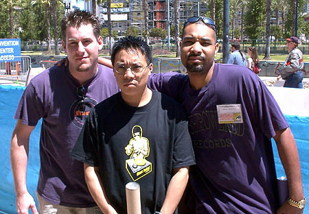 Jim Daly, Andy Chang, Erik Reeves at San Diego Comic Con!